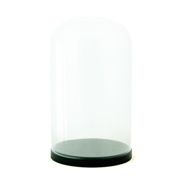 Pojemnik szklany Pleasure Dome Black, 33 cm