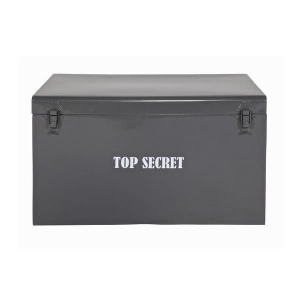 Szara skrzynia Top Secret