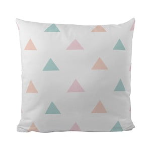 Poduszka   Pastel Triangles, 50x50 cm