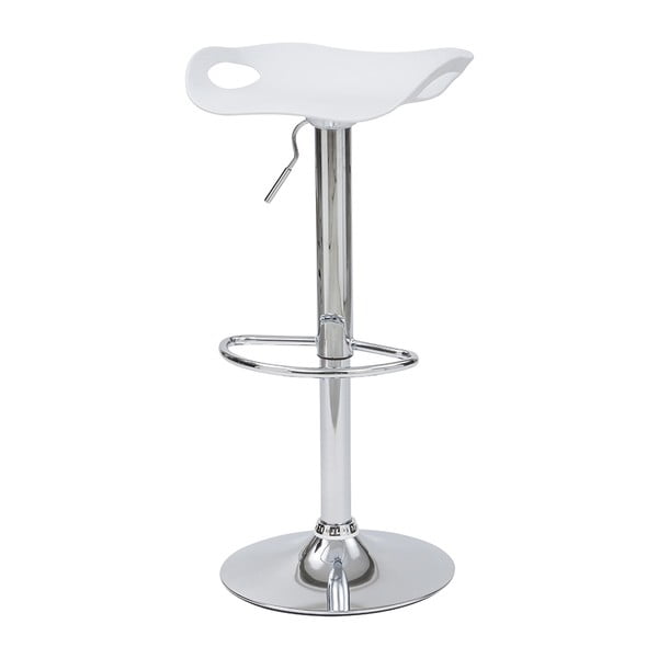 Krzesło barowe Rome, białe
