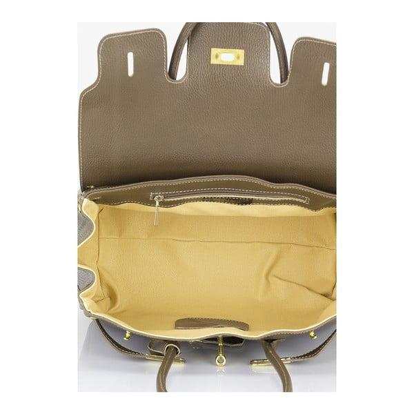 Beżowa torebka skórzana Giulia Massari Concepta