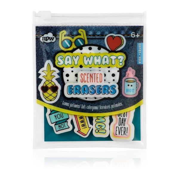Komplet 10 gumek do mazania NPW Erasers