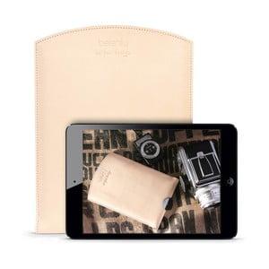 Skórzane etui na iPad mini Cream