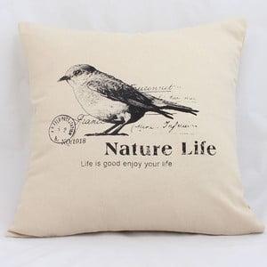 Dekoracyjna poszewka na poduszkę Nature Life, 40x40 cm