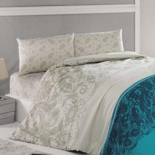 Komplet pościeli Luxury Time Blue, 240x220 cm