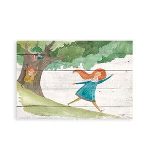 Obraz na drewnie Little Nice Things Kite, 60x40 cm