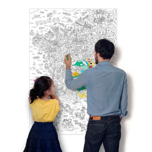 Kolorowanka France (70 x 100 cm)