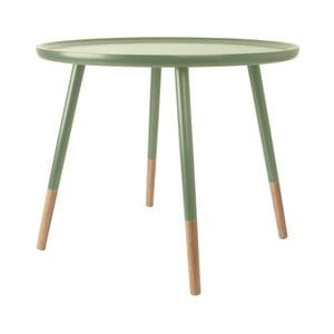 zielony stolik drewniany Leitmotiv Graceful