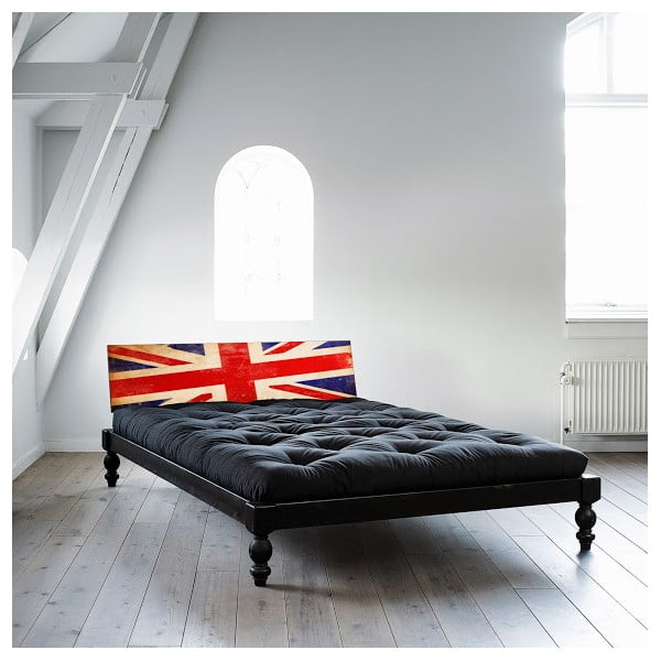 Łóżko Karup Rock-O UK Black/Union Jack