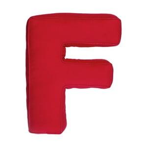 Poduszka w kształcie litery F, czerwona