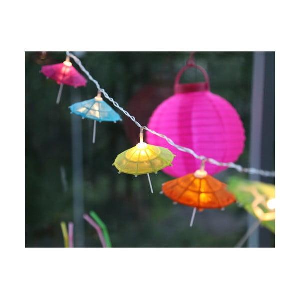 Kolorowy świecący łańcuch Paraple