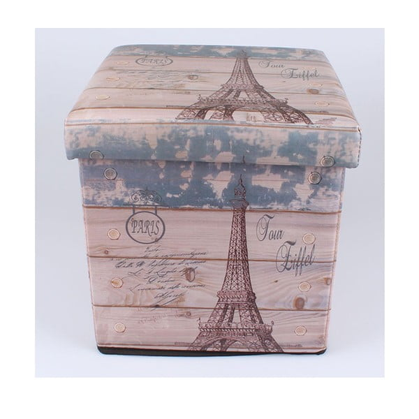 Taboret ze schowkiem Eiffel