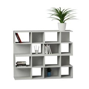 Biblioteczka Aaron 108 cm, biała