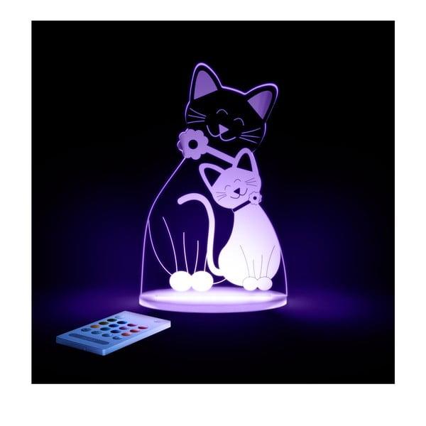 Dziecięca lampka nocna LED Aloka Kot