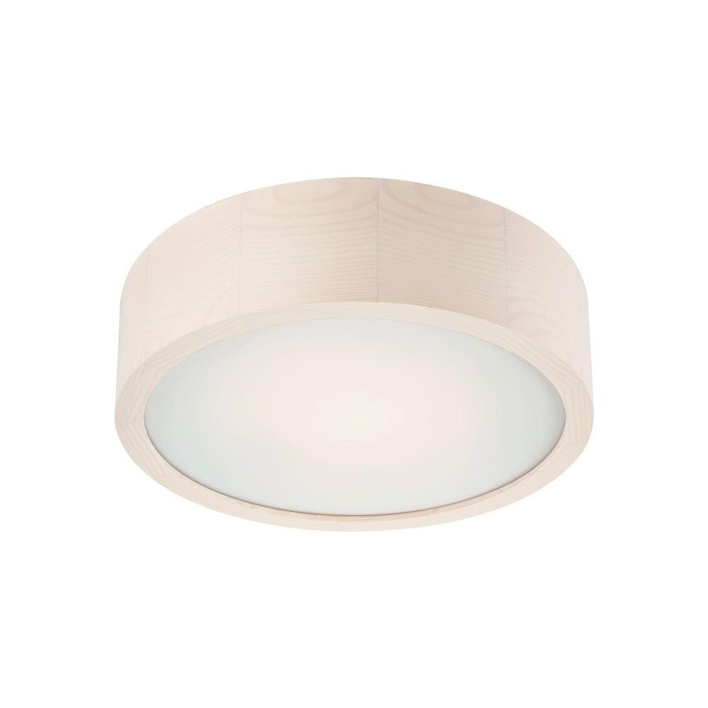 Biała okrągła lampa sufitowa Lamkur Plafond, ø 27 cm