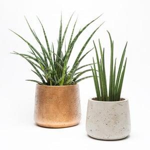 Zestaw kamiennych doniczek Planter Duo