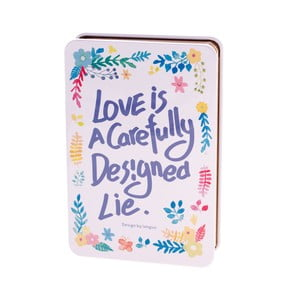 Notes Languo Love, biało-niebieski