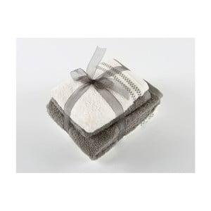 Komplet 4 ręczników z bawełny premium