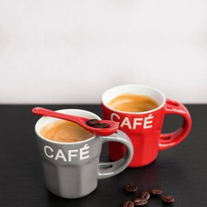 Tablica magnetyczna do pisania z markerem i 4 magnesami Eurographics Espresso Cups