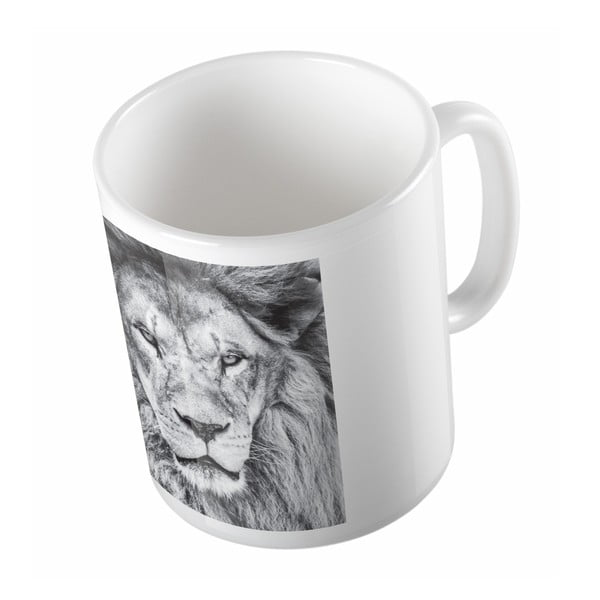 Ceramiczny kubek Animal King, 330 ml