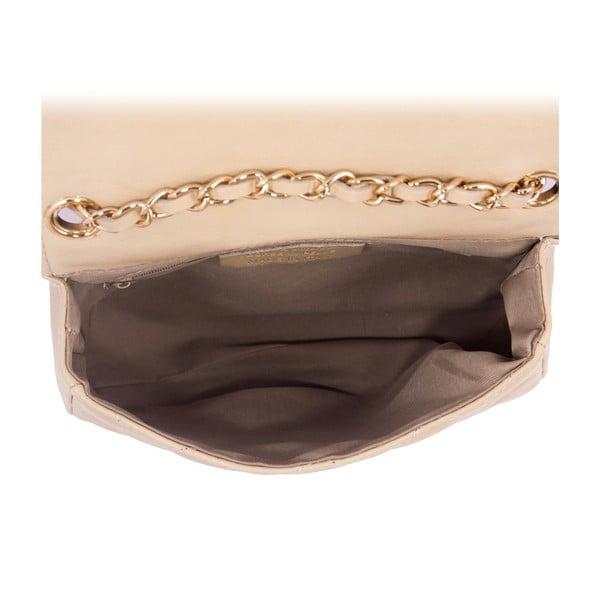 Beżowa torebka skórzana Andrea Cardone 2016