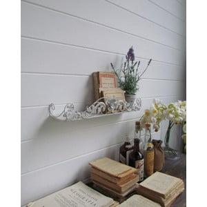Półka ścienna White Antique, 56x12 cm