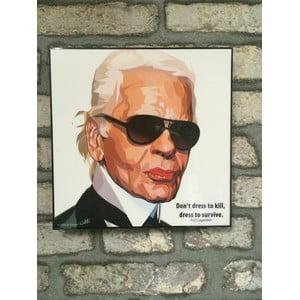 """Obraz """"Karl Lagerfeld"""""""