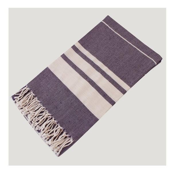 Ręcznik hammam Bath Style Purple, 100x180 cm