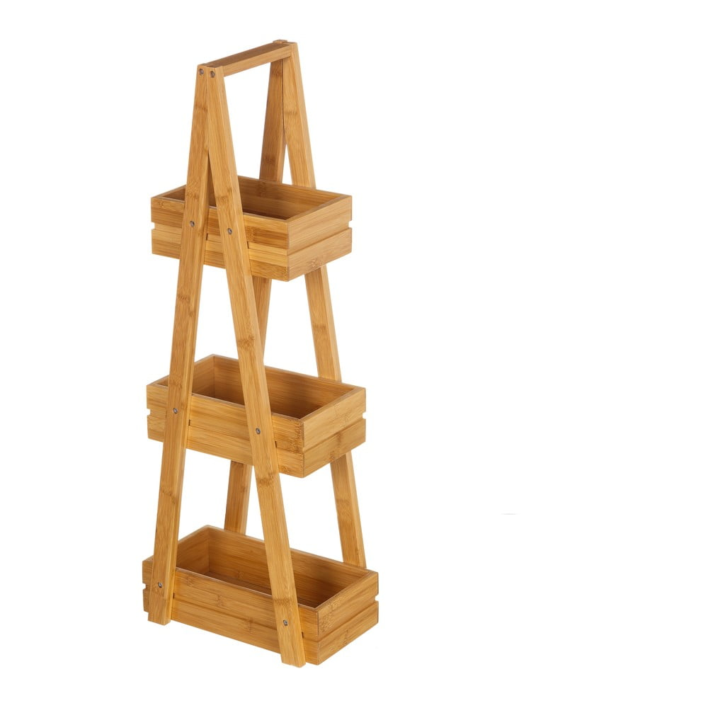 3-poziomowy regał bambusowy Unimasa Bamboo