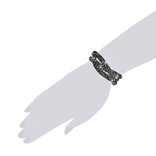 Bransoletka Black Dust, 21 cm