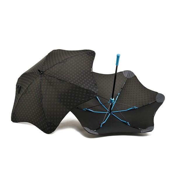Super wytrzymały parasol Blunt Mini+ z odblaskowym pokryciem, niebieski