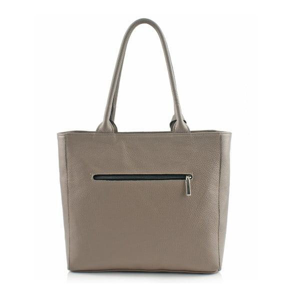 Skórzana torebka Boscollo Grey 3467