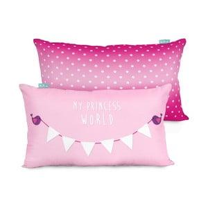 Poszewka na poduszkę Little W Princess, 50x30 cm