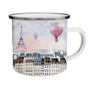 Kubek emaliowany z wieżą EiffelaTinMan, 200 ml
