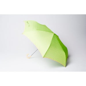 Składany parasol Dots, zielony