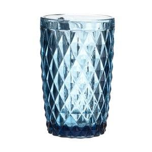 Zestaw 6 niebieskich szaklanek na wodę InArt Enigma