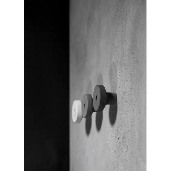 Betonowy wieszak AUGA, 9 cm