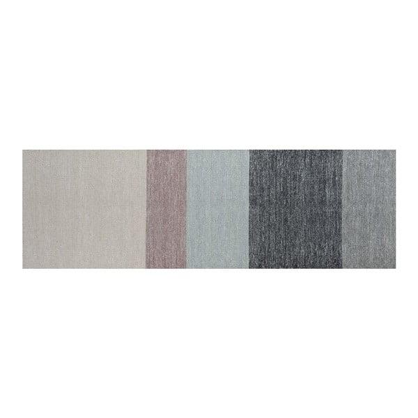 Wełniany dywan Poraka Heather, 80x250 cm