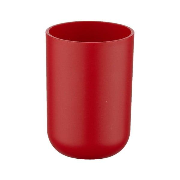 Czerwony kubek na szczoteczki do zębów Wenko Brasil Red