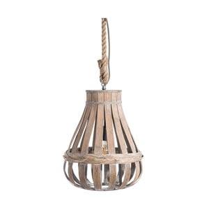 Lampa wisząca z bambusu Tropicho, ⌀ 35 cm