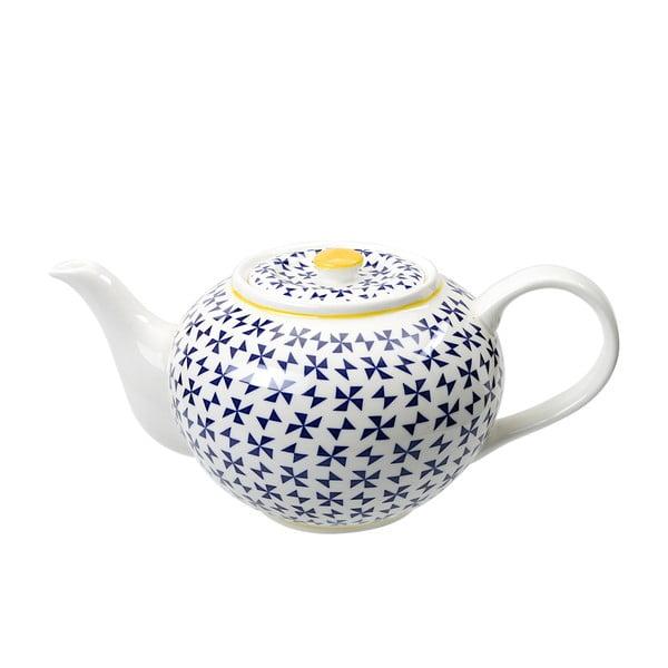 Porcelanowy czajnik na herbatę Geometric No2