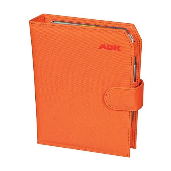 Kalendarz na rok 2016 AKD Pracitic, pomarańczowy, rozm. A5