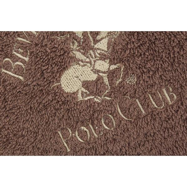 Ręcznik bawełniany BHPC 50x100 cm, brązowy