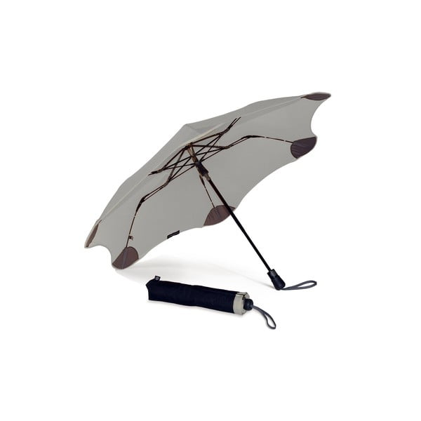 Super wytrzymały parasol Blunt XS_Metro 95 cm, szary