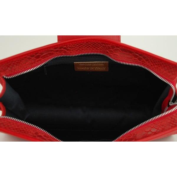 Skórzana torebka Bonnie Rosso