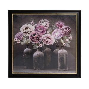 Obraz w ramie Graham & Brown Bloom Floral,80x80cm