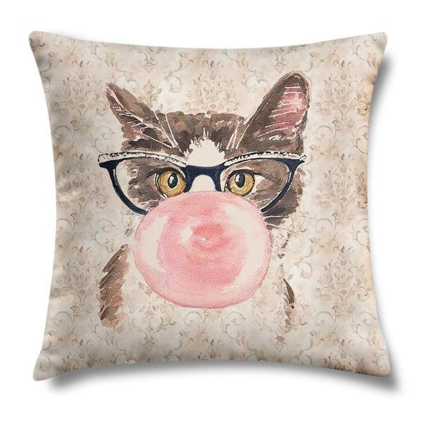 Poduszka Bubblegum Kitty, 43x43 cm
