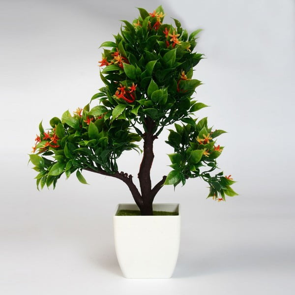 Sztuczna roślina w doniczce Bonsai Naranja