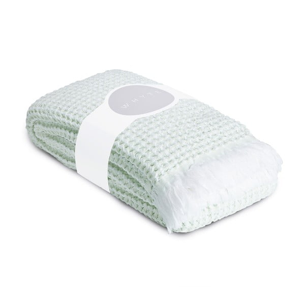 Ręcznik Whyte 100x160 cm, biało-miętowy