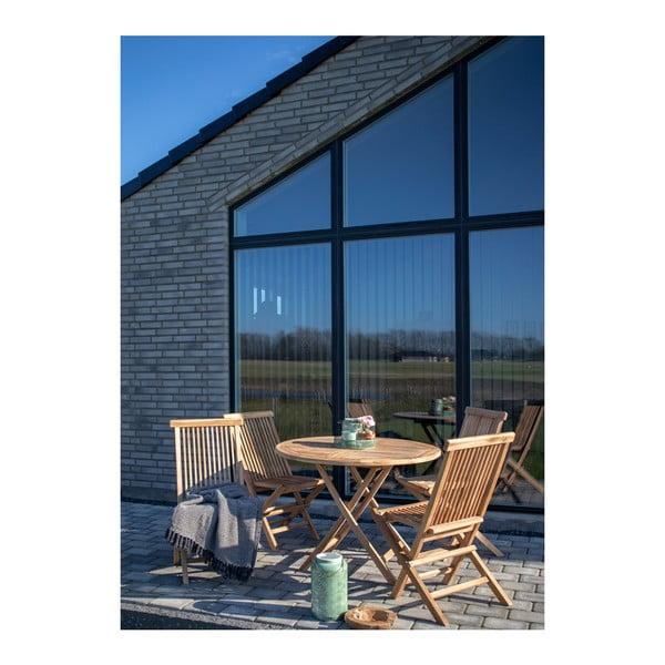 Zestaw 2 krzeseł do jadalni z drewna tekowego House Nordic Toledo